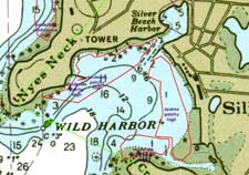 Eelgrass in Wild Harbor, DEP 1951