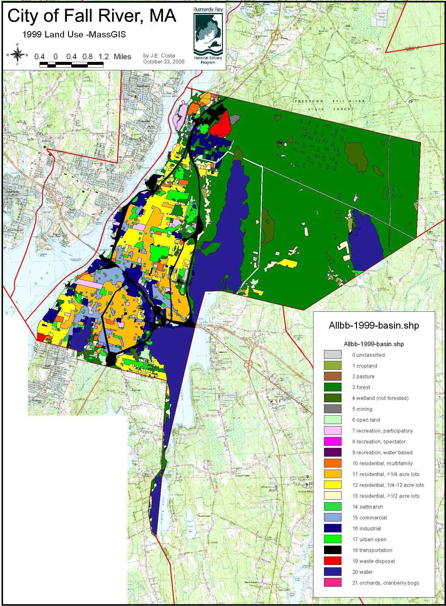 Fall River – Buzzards Bay National Estuary Program