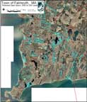 thumbnail of Falmouth open space map