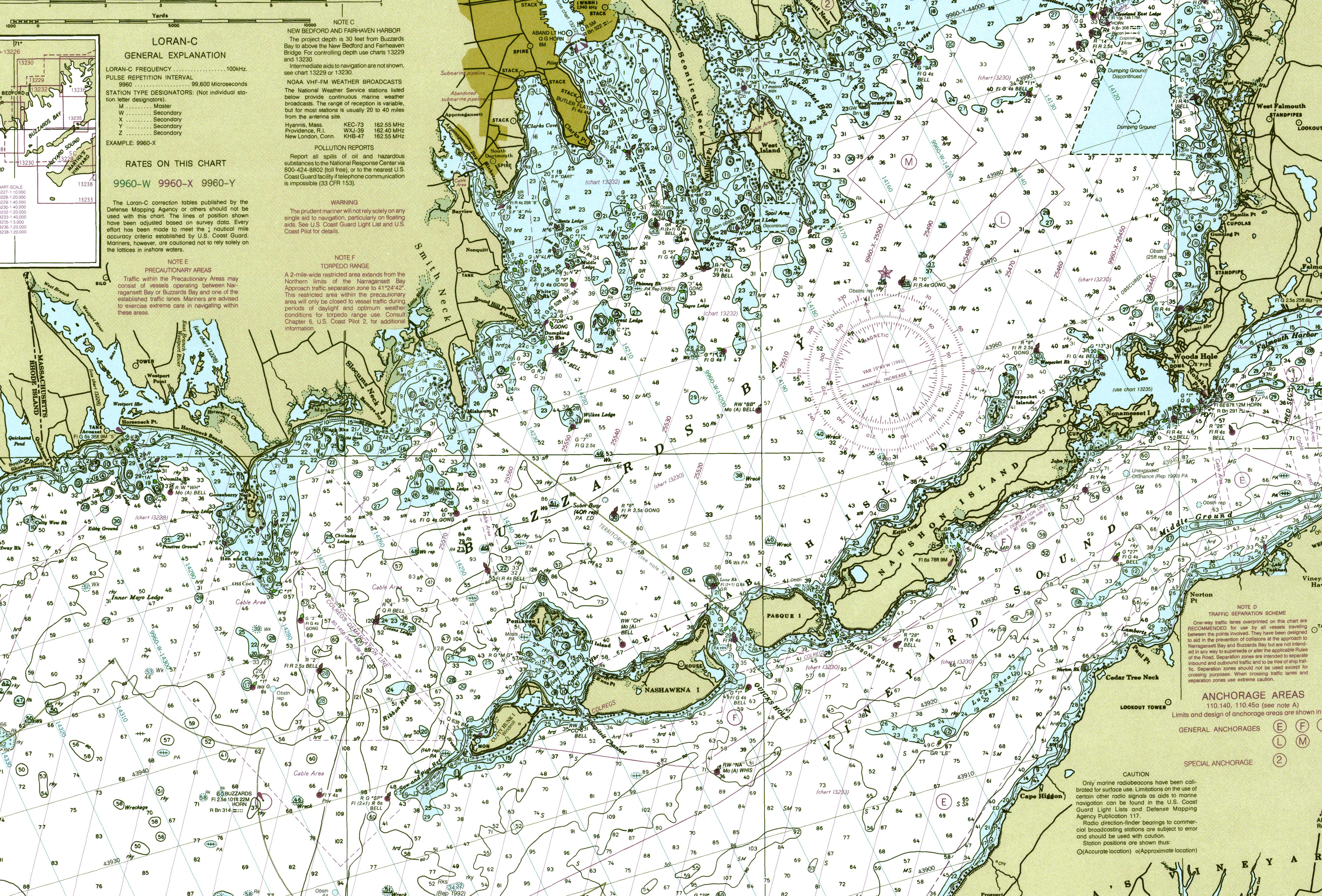 Nautical charts buzzards bay national estuary program click here to open a screensize 68 wide x 48 tall version 33 mb version of this map geenschuldenfo Gallery