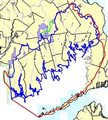 DEP versus Buzzards Bay NEP boundary