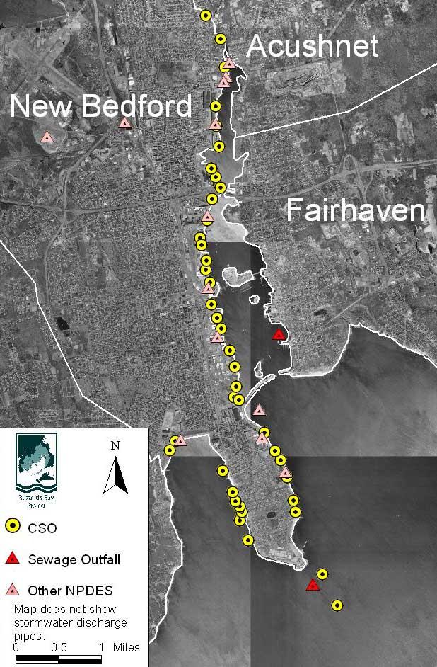 New Bedford Harbor Subwatershed Land Use Amp Nitrogen
